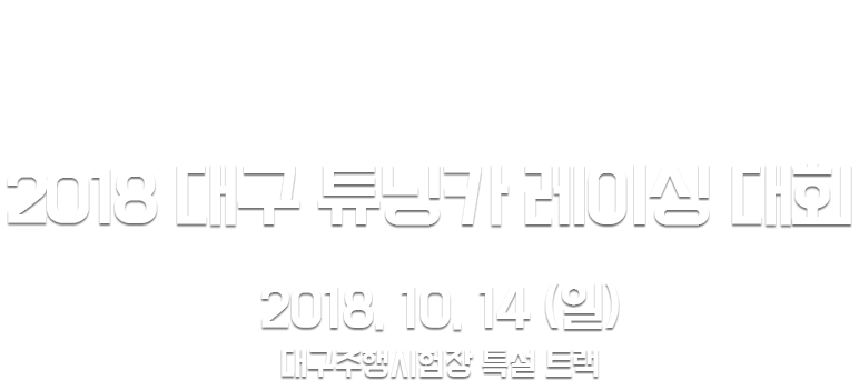 Daegu tuning car racing